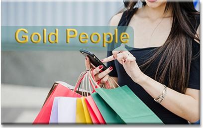 il rimborso della spesa con gold people
